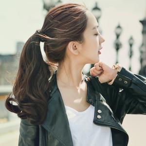 粉红时代 绑带马尾) Mariang Rose (supreme原丝) 假发女 魔术贴式捆绑马尾辫  假马尾