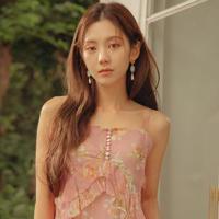 粉红时代 假发片) 爱心 1片 (Lex原丝) 韩国时尚接发片 长直发 假发片 1片式