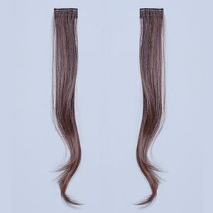 粉红时代 小片补发片 宽5cm 长47cm 增加两侧发量微卷哑光 假发片女 接发片