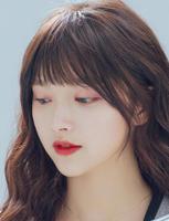 粉红时代 假发片 头帘 刘海发片 有鬓角圆刘海甜美空气刘海
