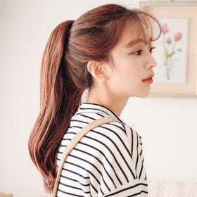 粉红时代 韩国正品 - 爪夹马尾辫)爱路 - 自然马尾(Lex原丝)