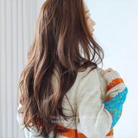 粉红时代  半假发) 我爱巴黎 (Lex原丝) 70cm 假发女 长卷发长发半顶蓬松长假发半头套自然逼真半假发浪漫优雅