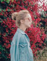 粉红时代 假发发圈女士丸子花苞头卷发包蓬松盘头器小号丸子头发包 - 小尺寸(Lex原丝)